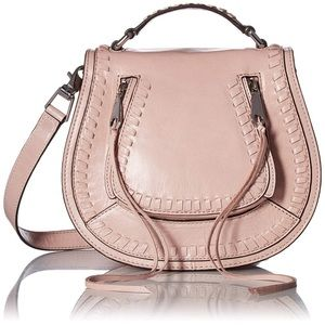 Rebecca Minkoff Vanity Saddle Bag Lilac Rose NWT